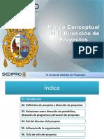 Marco Conceptual de La Dirección de Proyectos