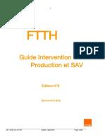 ORANGE - FTTH - Guide Intervention v7 2016