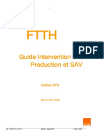ORANGE - FTTH - Guide Intervention v7 2016