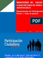 Departamento Participacion Minsal