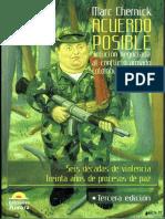 Acuerdo Posible Solucion Neogicada Al Conflicto Armado Colombiano