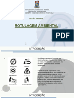 rotulagem ambiental