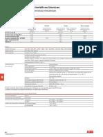 Data sheet tablero