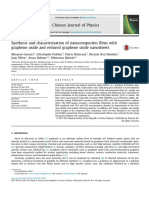 Synthesis and Characterization of Nanocomposites Films With