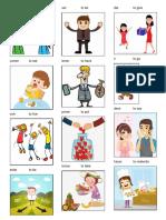 Verbos en Ingles Con Imagen