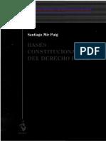 Bases Constitucionales Del Derecho Penal - Mir Puig