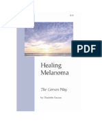 4E Charlotte Gerson - The Gerson Way - Healing Melanoma