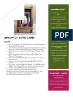 Apron of Love Card