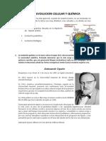Evol.quimico y Celular Monografia