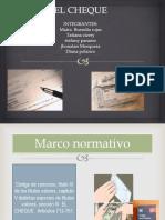 EL CHEQUE Dispositivas (1)