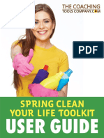 Spring Clean Your Life Toolkit USER GUIDE