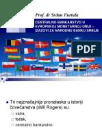 03 Srdjan Furtula  -Centralno bankarstvo u Evropskoj monetarnoj uniji - izazovi za Narodnu banku Srbije.ppt