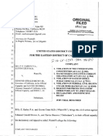Federal Lawsuit Against California Governor Edmund Brown for RICO 18 U.S.C. 1964 and 5 U.S.C. 7311