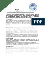 CURSO DE LA INTERAMERICAN SOCIETY OF HYPERTENSION - DIAGNÓSTICO Y MANEJO DE LA HIPERTENSIÓN ARTERIAL