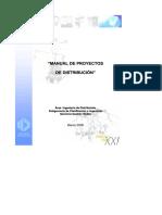 Manual de Proyectos de Distribucion Chilectra