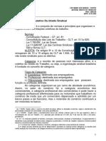 12366010.01.23 - Direito Do Trabalho - Extensivo OAB Sábado - Centro