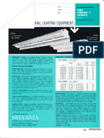 Sylvania Power-V 430ma Fluorescent Industrial Spec Sheet 4-68