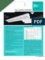 Sylvania Power-V 800ma Fluorescent Industrial Spec Sheet 4-68