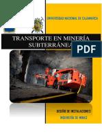 Transporte en Subterránea