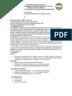 Informe de Clase Práctica de Asignatura de Embriología