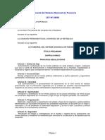 Ley 28693 SISTEMA NACIONAL DE TESORERIA.pdf