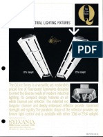 Sylvania Q-Line Series Industrial Reflector Fluorescent Spec Sheet 10-67
