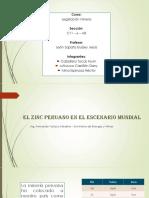 El Zinc Peruano en El Escenario Mundial