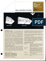 Sylvania Spartan HID Industrial Series Spec Sheet 10-70