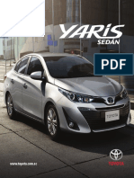 Catalogo Yaris Sedan 2018