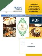 Proyecto o Plan de Negocios Caffee Cacke Dolcetto