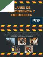 Planes de Contingencia y Emergencia 1