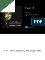 1 3 Basics of Algorithm Analysis v4
