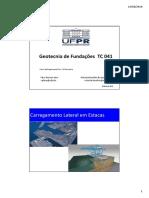 TC 041 Geotecnia de Fundações - Carregamento Horizontal Tschebotarioff