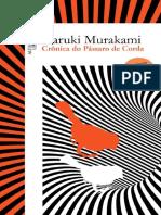 Crônica Do Pássaro de Corda - Haruki Murakami