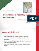 Desarrollo de La Placenta y Anexos Embrionarios