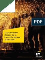 Los 10 Principales Riesgos en La Industria-minera-2016-2017