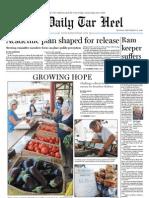 The Daily Tar Heel for September 27, 2010