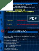 UNIDAD VI Correlaciones Estratigráficas2018