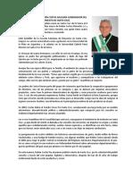Biografía de Rubén Costas Aguilera Gobernador Del Departamento de Santa Cruz