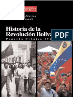 BONILLA-EL TROUDI Historia de La Revolución Bolivariana