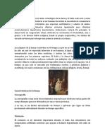 Historia de La Danza - Caracteristicas de La Danza - 2018