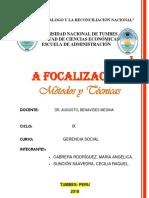 Focalizacion - Gerencia Social