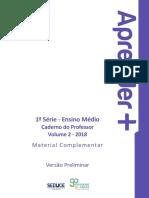 Livro 1ª Serie_vol 2_professor