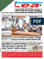 Periódico Lea Martes 19 de Junio Del 2018