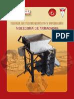 MOLEDORA MECANICA DE ARRACACHA