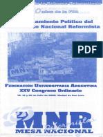 MNR (2008) - A 90 Años de La Reforma