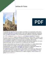 Historia Catedral de San Esteban de Viena