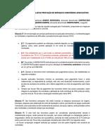 Contrato de Honorarios Trabalhista Reforma