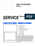 Samsung Galaxy Tab s Sm-t805 Service Manual