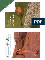 Lista de Aves Argentinas Imprimible